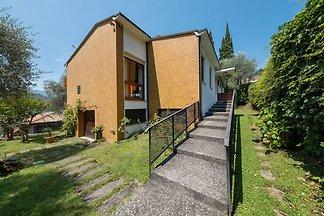 Detached villa with garden a short distance f...