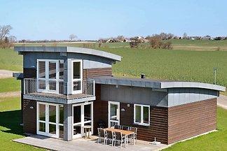 Modernes Ferienhaus in Faaborg mit Balkon