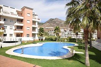 Gemütliche Wohnung mit Swimmingpool am Meer i...