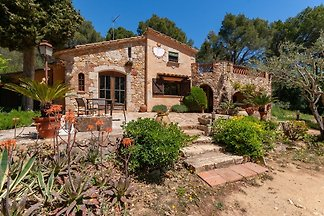 Countryside Mansion in Palafrugell with Priva...