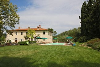 This beautiful farmhouse with pool and views ...
