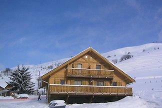 Gepflegte Ferienwohnung in Les Sybelles mit 3...
