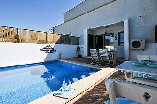 Moderne Ferienwohnung in Cala Pi mit...