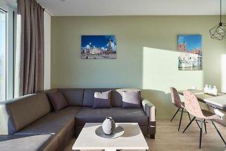 Modernes Appartement mit Geschirrspüler, 1 km...