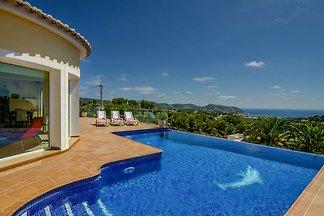Wunderschöne Villa in Moraira, Spanien mit...