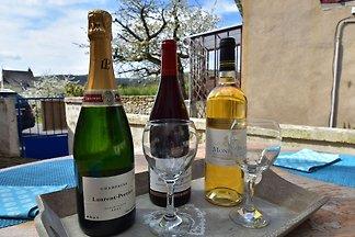 Gemütliches Ferienhaus in Burgund mit Garten
