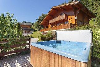 Luxuriöse Ferienwohnung in La Côte-d'Arbroz m...