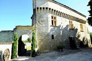 Rustikales Schloss in Bon-Encontre, voll ausg...