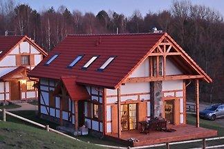 Gemütliches Cottage in Barnowiec mit Sauna