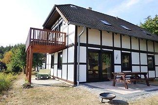 Modernes Apartment in Hessen am Waldrand