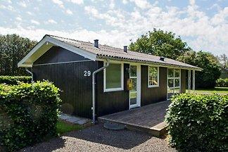 Gemütliches Ferienhaus in Hemmet mit Sauna