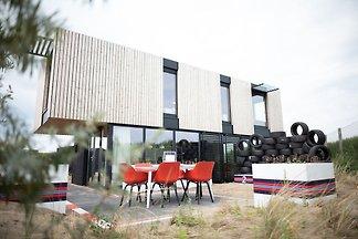 Moderne, trendige Lodge im F1-Stil, nur 100 m...