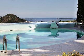 Eine luxusvilla an der Côte d'Azur mit atembe...