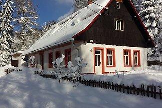 Großzügiges Ferienhaus mit Garten in Rudník