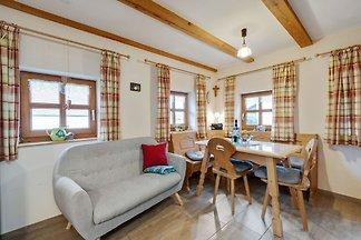 Ferienhaus aus Holz in Bärndorf mit...