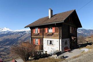 Idyllisches Apartment in Trans mit Bergblick