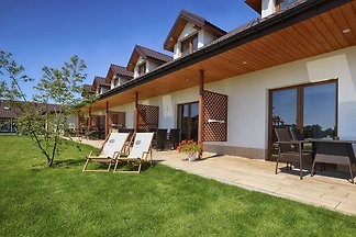 Modernes Ferienhaus in Darlow mit Garten