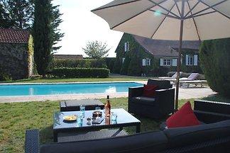 Wunderschöne Villa in Burgund mit...