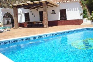 Ferienhaus mit Pool nahe Nerja, mit Panoramab...