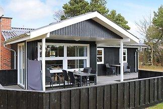 Gemütliches Ferienhaus in Jütland am Strand