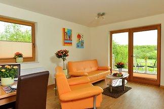 Die moderne Wohnung in Mörz im Hunsrück.