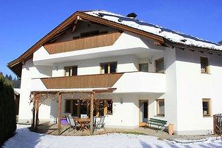 Ferienwohnung in Kaltenbach mit Blick auf Zil...