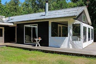 Rustikales Ferienhaus in Jütland mit Terrasse