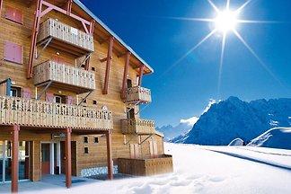 Schöne Wohnung mit Balkon nur 500 m vom Skili...