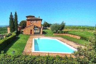 Schönes Bauernhaus mit Pool bei Montepulciano