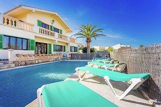 Ruhige Villa in Portocolom mit privatem...