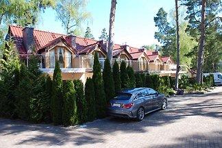 Ferienhaus an der Küste von Pobierowo