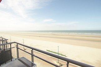 Moderne Ferienwohnung am Strand in Bray-Dunes...