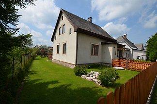 Ferienhaus mit privatem Pool in Böhmen