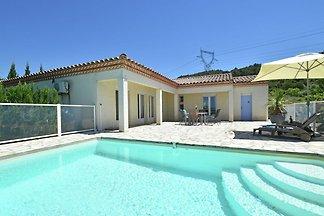 Ruhige Villa in Oupia mit privatem...