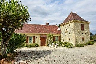 Gemütliches Ferienhaus in Thédirac mit...