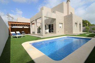 Moderne Villa in Rojales mit privatem...