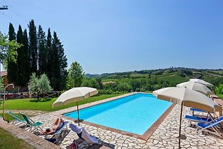 Quaint Farmhouse in San Gimignano with Swimmi...