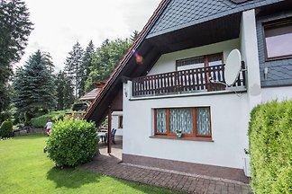 Ferienhaus in Thüringen mit herrlichem Ausbli...
