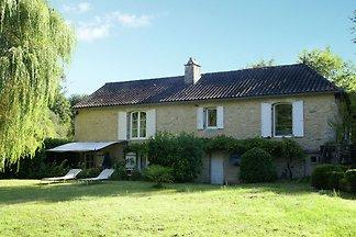 Karakteristiek huis bij Villefranche-du-Périg...