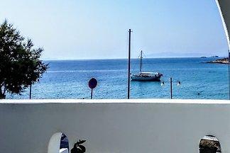 Angenehme Ferienwohnung in Paros mit Balkon