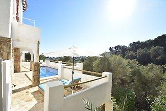 Ibiza-style Villa in Moraira with Private Poo...