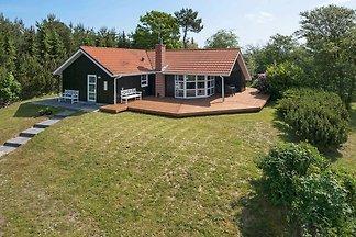 Stilvolles Ferienhaus in Jütland mit Sauna