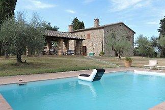 Ferienhaus in San Casciano dei Bagni mit Pool