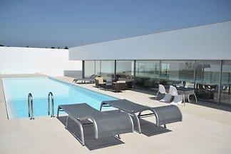 Moderne Villa mit Garten und Pool in Óbidos...