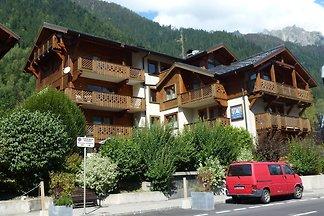 Schöne Ferienwohnung mit Balkon in Chamonix,...