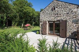 Modernes Ferienhaus in Tavistock mit Garten