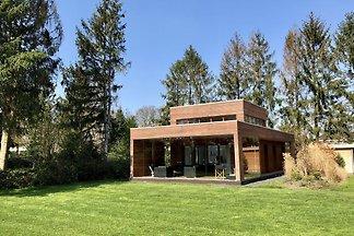 Modernes Ferienhaus mit Holzofen bei Almelo