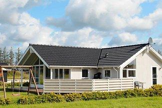 Modernes Ferienhaus in Ansager mit Sauna