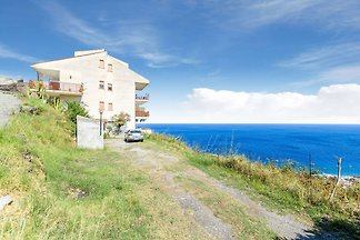 Ferienhaus am Meer in Letojanni in der Nähe d...