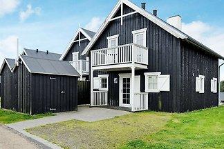 Modernes Ferienhaus in Gjern mit Sauna
